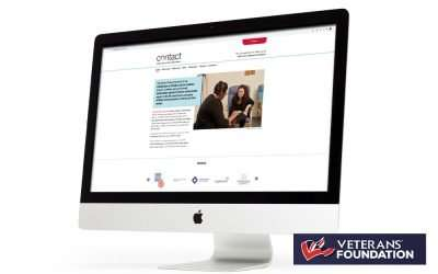Brand new Contact website launches with the generous support of the Veterans Foundation!